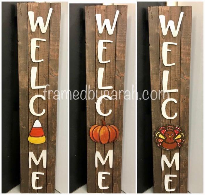 Welcome Welc Me Porch Sign Diy Kit