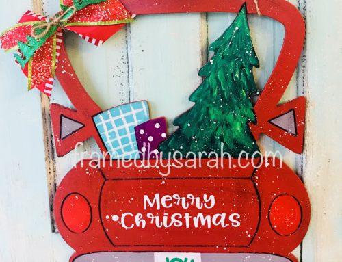 Vintage Christmas Truck Workshop