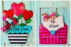 Valentine Door Hanger DIY
