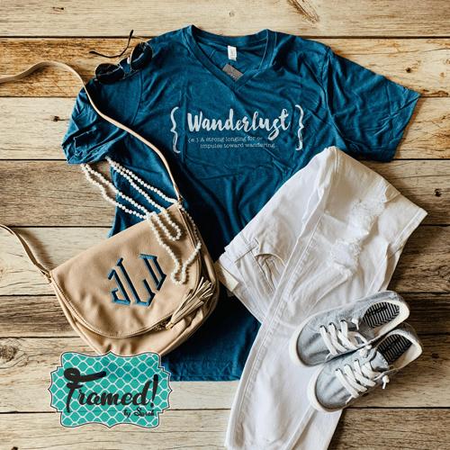 feb239e2 Wanderlust Graphic T-Shirt | Framed!