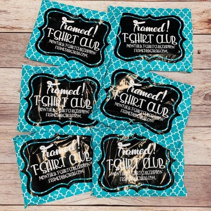 Tshirt Club Subscription Box