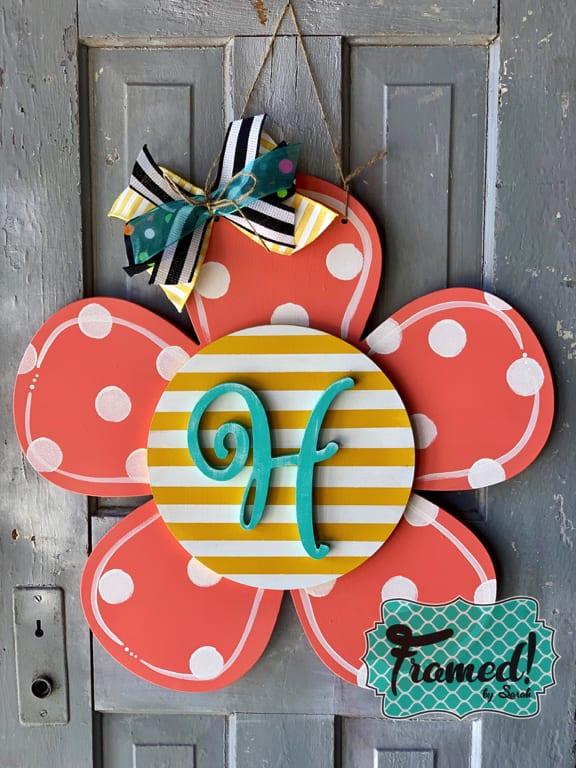 Fun Flower Door Hanger Workshop
