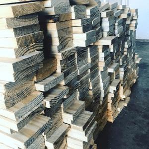 DIY Herringbone Wood Accent Wall-Framed! by Sarah