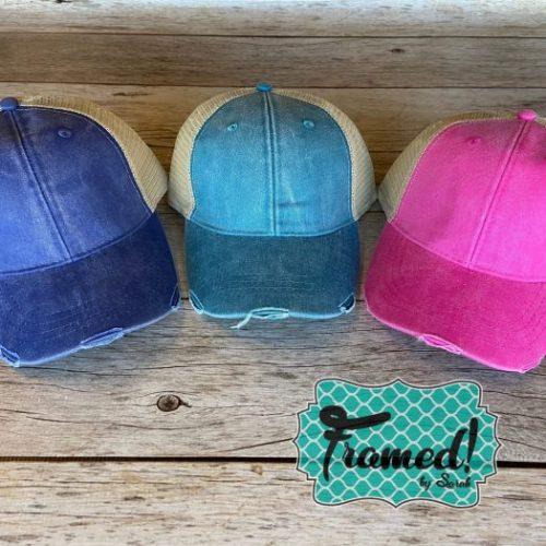 Monogrammed Trucker Hat