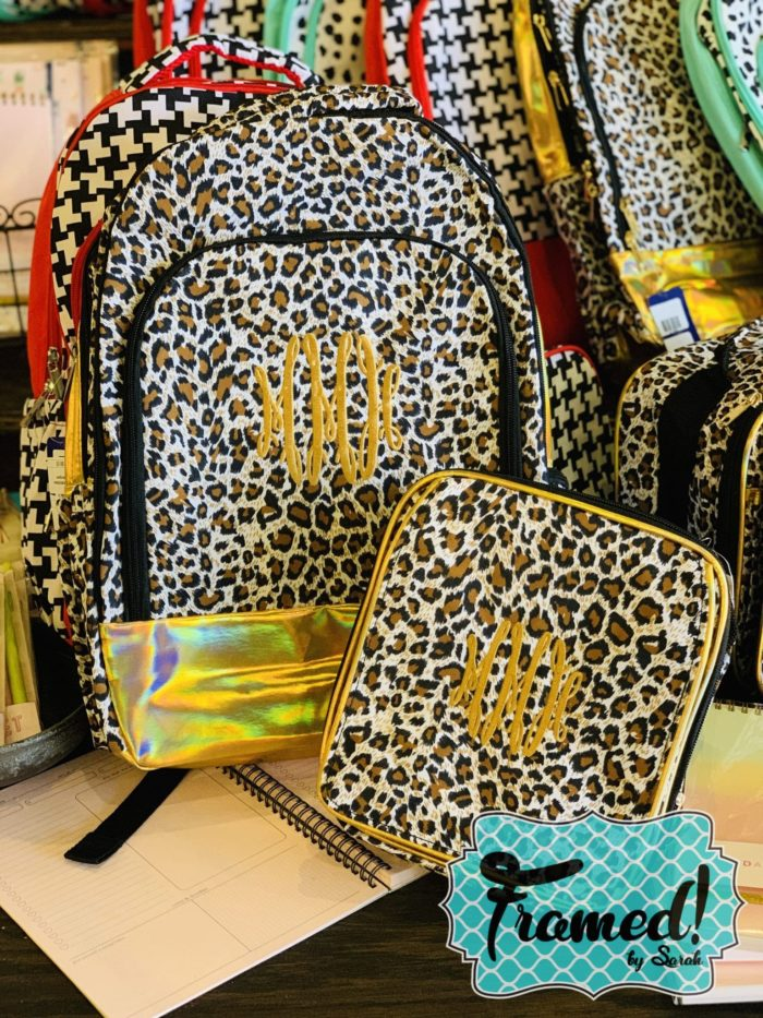 Back to School Monogram Backpack