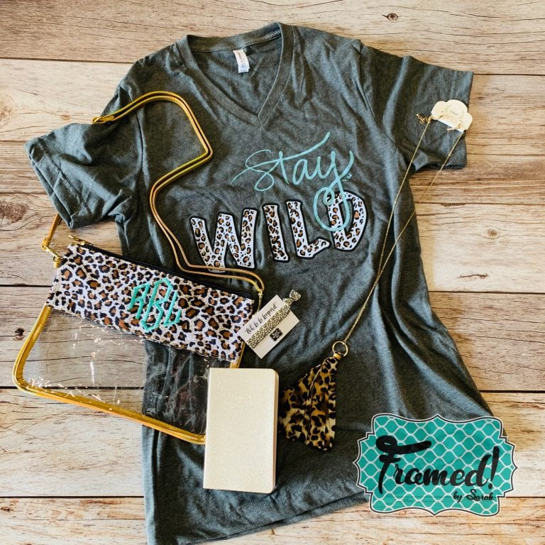 Oh La La Leopard – August Monogram Box
