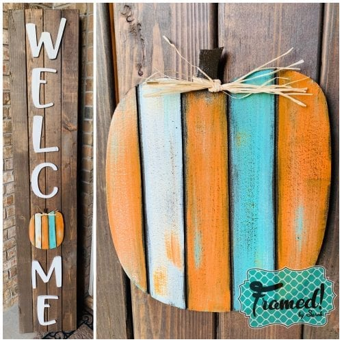 Reclaimed Wood Pumpkin Attachment