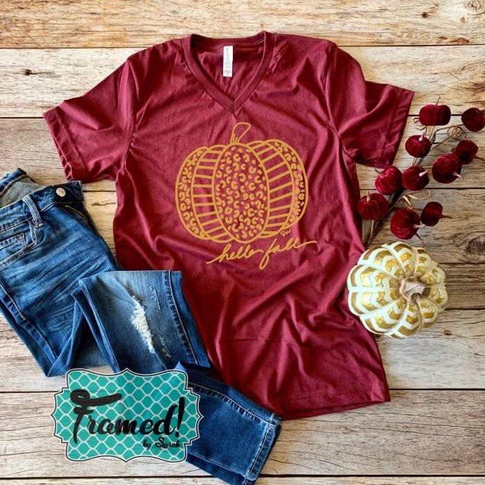 Hello Fall! Pumpkin October T-Shirt Club