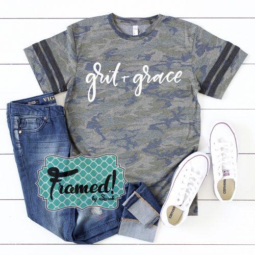 Grit & Grace Camo Tee