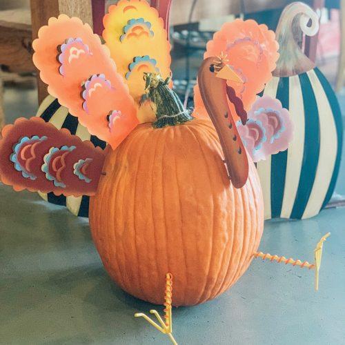Pumpkin Decorating Parts