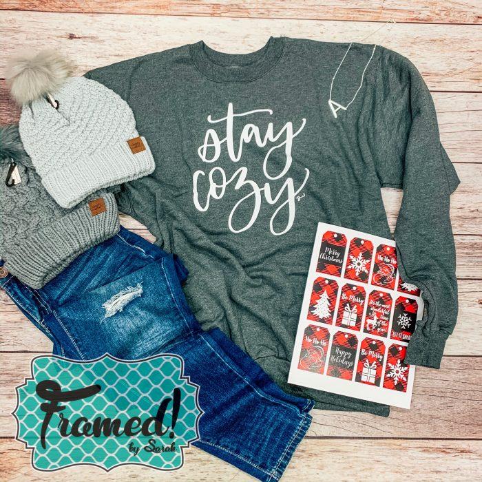 Stay Cozy December Monogram Box