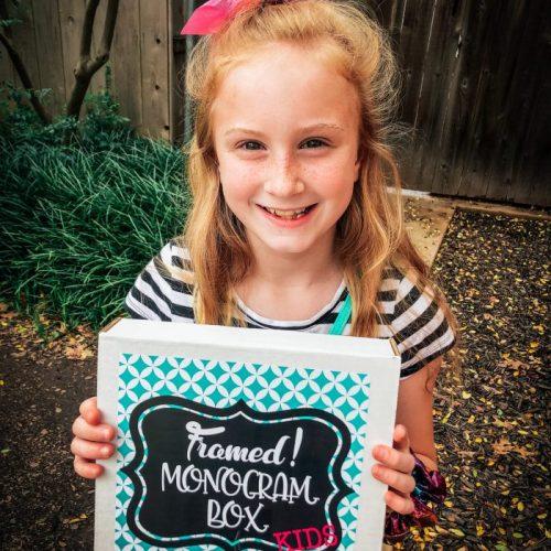 Kids Monogram Box (one-time box)