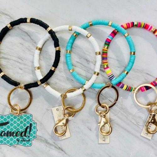 Beaded Keychain Bracelets