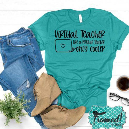 Virtual Teacher Graphic Tee