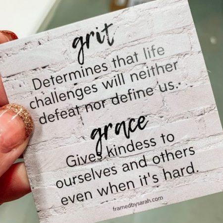 Grit & Grace card