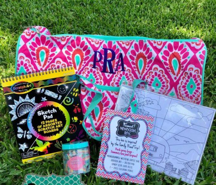 Summer Kids Monogram Box